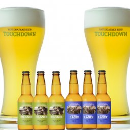 八ヶ岳ビール タッチダウン2種6本「ピルスナー/清里ラガー」飲み比べ