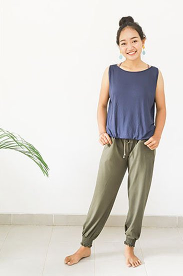 Bamboo N/S Top (sb-007)<br>Rp350,000