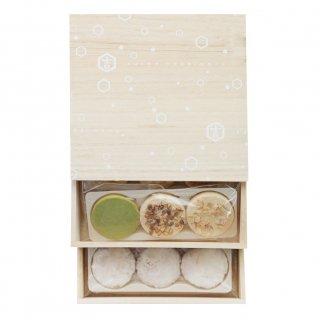吉村和菓子店詰合せ2段箱