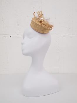 ストローミニトーク帽