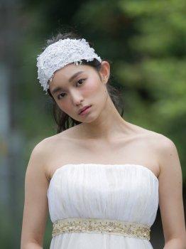 Antique Lace bonnet