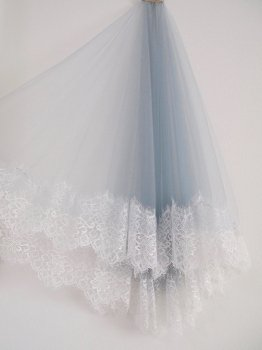 Color veil -blue gray-