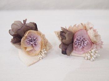 Veriteco お花のイヤリング -pink-
