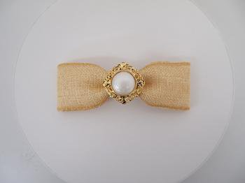 Ribbon barrette (M)