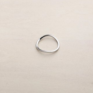 RUBBER BAND RING [PLATINUM]