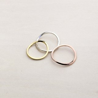 RUBBER BAND RING [18K]