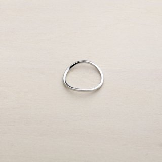 RUBBER BAND RING [SILVER]