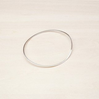 RUBBER BAND BRACELET [SILVER]