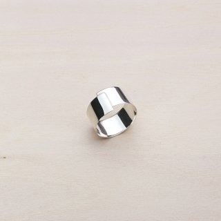 TAPE RING LONG [SILVER]