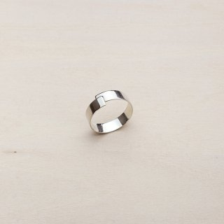 TAPE RING SHORT [SILVER]