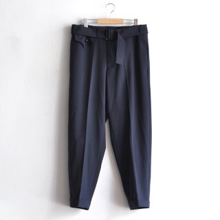 WEST BELTED TROUSERS [DARK BLUE]