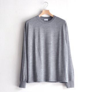 WASHABLE WOOL L/S [GRAY]