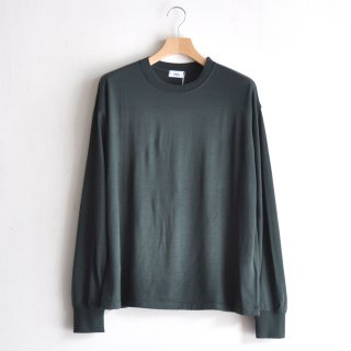 WASHABLE WOOL L/S [GREEN]