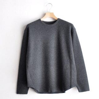 CASHMERE MILITARY P/O [CHARCOAL]