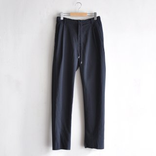 BACK GATHER EASY PANTS [NAVY]
