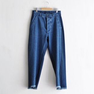 DENIM PANTS S/L [BLUE]