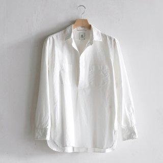 COTTON SILK SKIPPER SHIRTS [OFF WHITE]