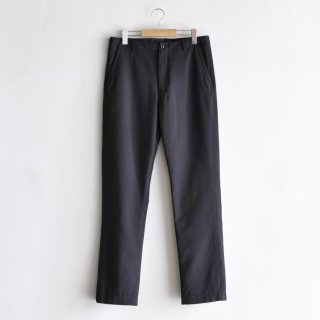 PO-STA PREST HOPSACK SLIM TAPERED PANTS [CHARCOAL GRAY]