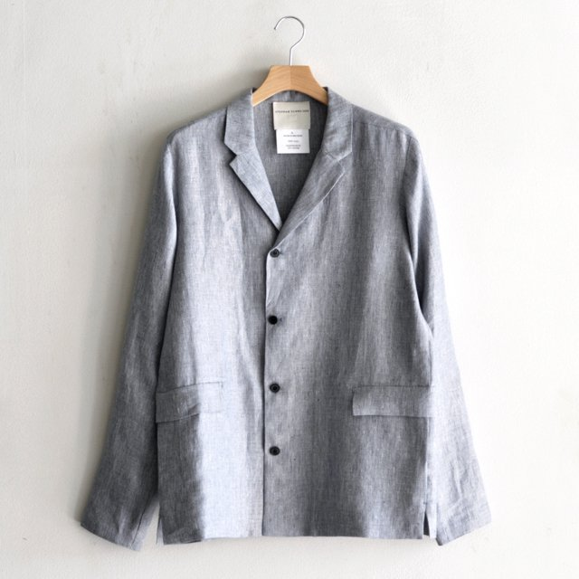 JACKET BLOCKS [BLUE LINEN]
