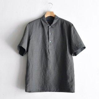 SUPER HI-COUNT LINEN P/O SHIRTS [GRAY]