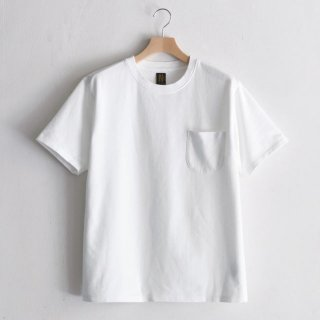 INLAY POCKET TEE  [WHITE]