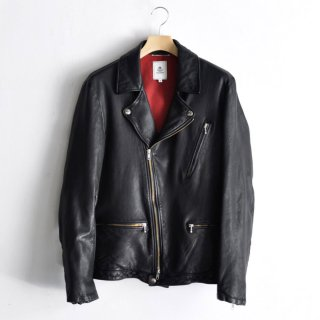 SHEEPSKIN RIDERS JACKET [BLACK]