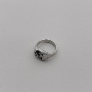 SIGNET RING for women [SILVER]