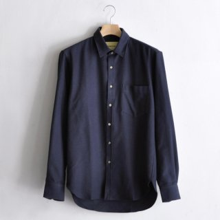 ESSENTIAL SHIRT [NAVY FLANNEL]