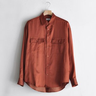 RAYON SHIRT [BROWN]