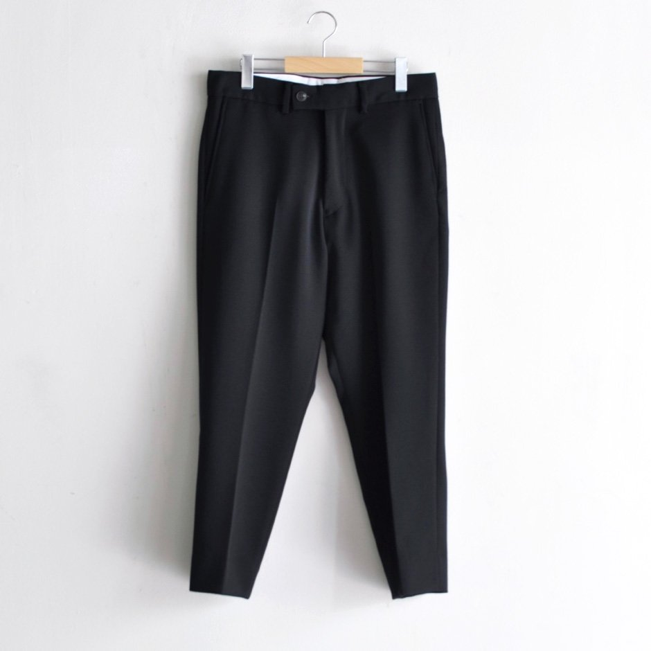 ANKLE SLACKS [BLACK]