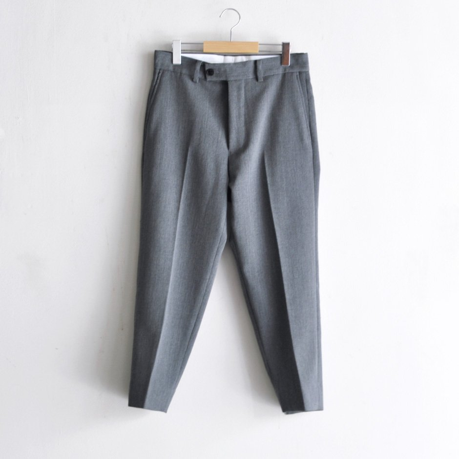 ANKLE SLACKS [GRAY]