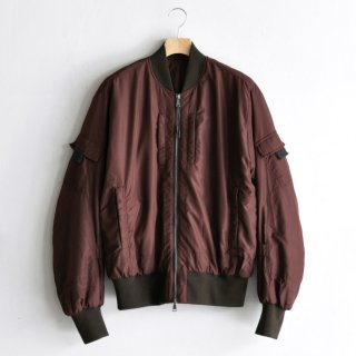 TECHNICAL FASHION BOMBER [BURGUNDY]