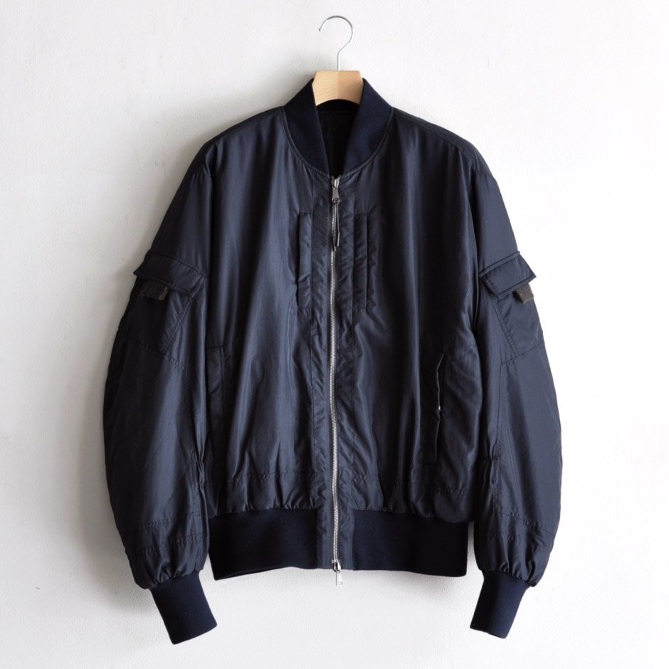 TECHNICAL FASHION BOMBER [NAVY]