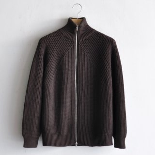 DRIVERS KNIT CARDIGAN [BROWN]