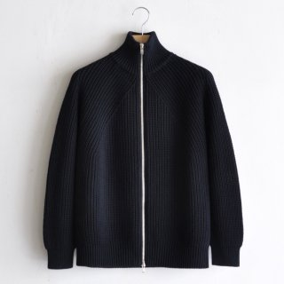 DRIVERS KNIT CARDIGAN [BLACK]