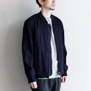PINWALE ZIP BLOUSON [DARK BLUE]