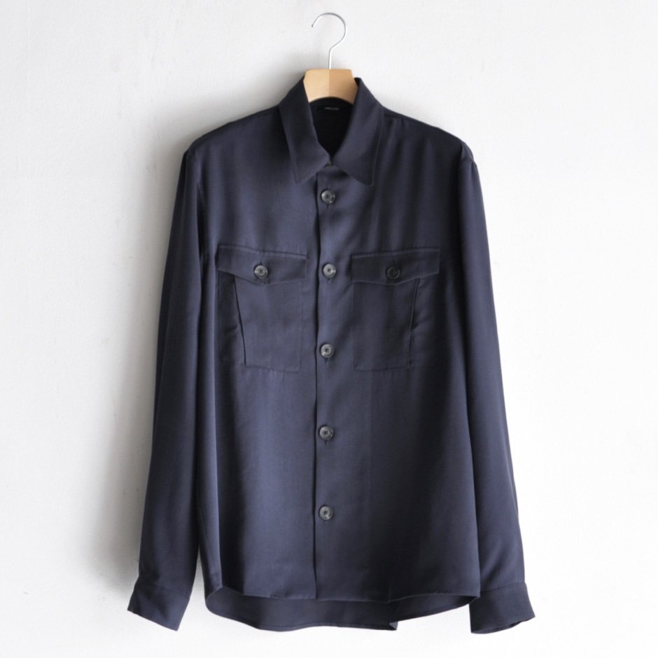 MILITARY SHIRT JACKET [NAVY]