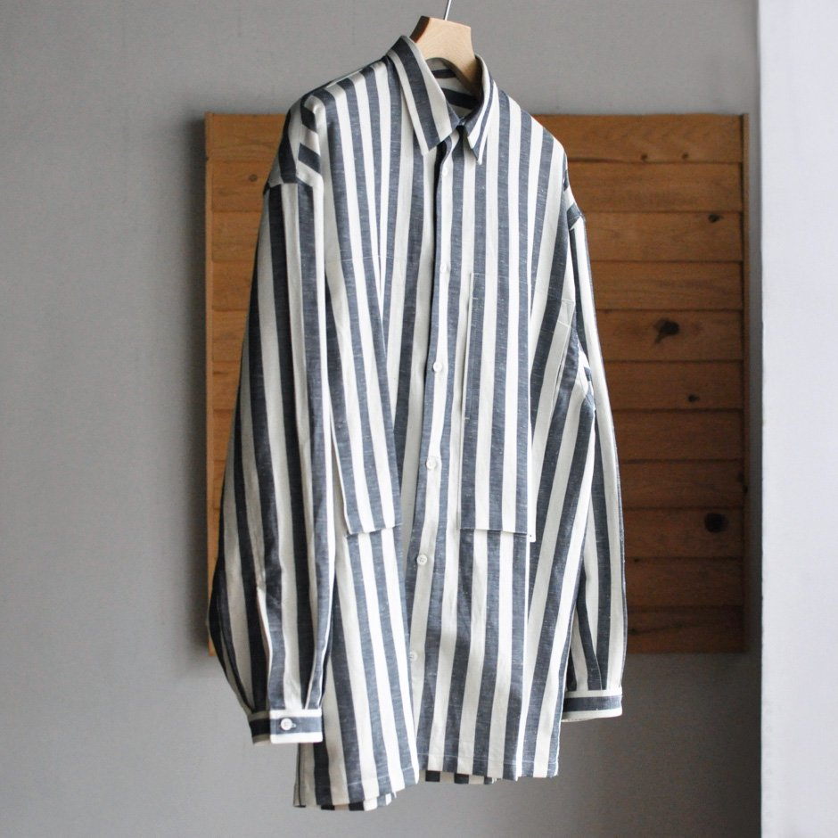 LINEMAN SHIRT [DECKCHAIR STRIPE]