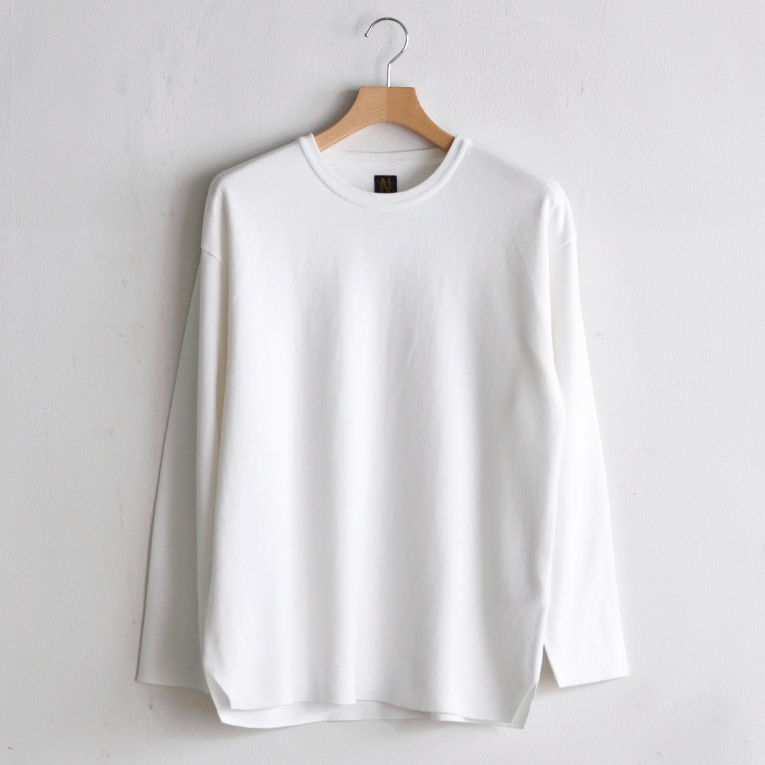 32G SMOOTH L/S TEE  [WHITE]