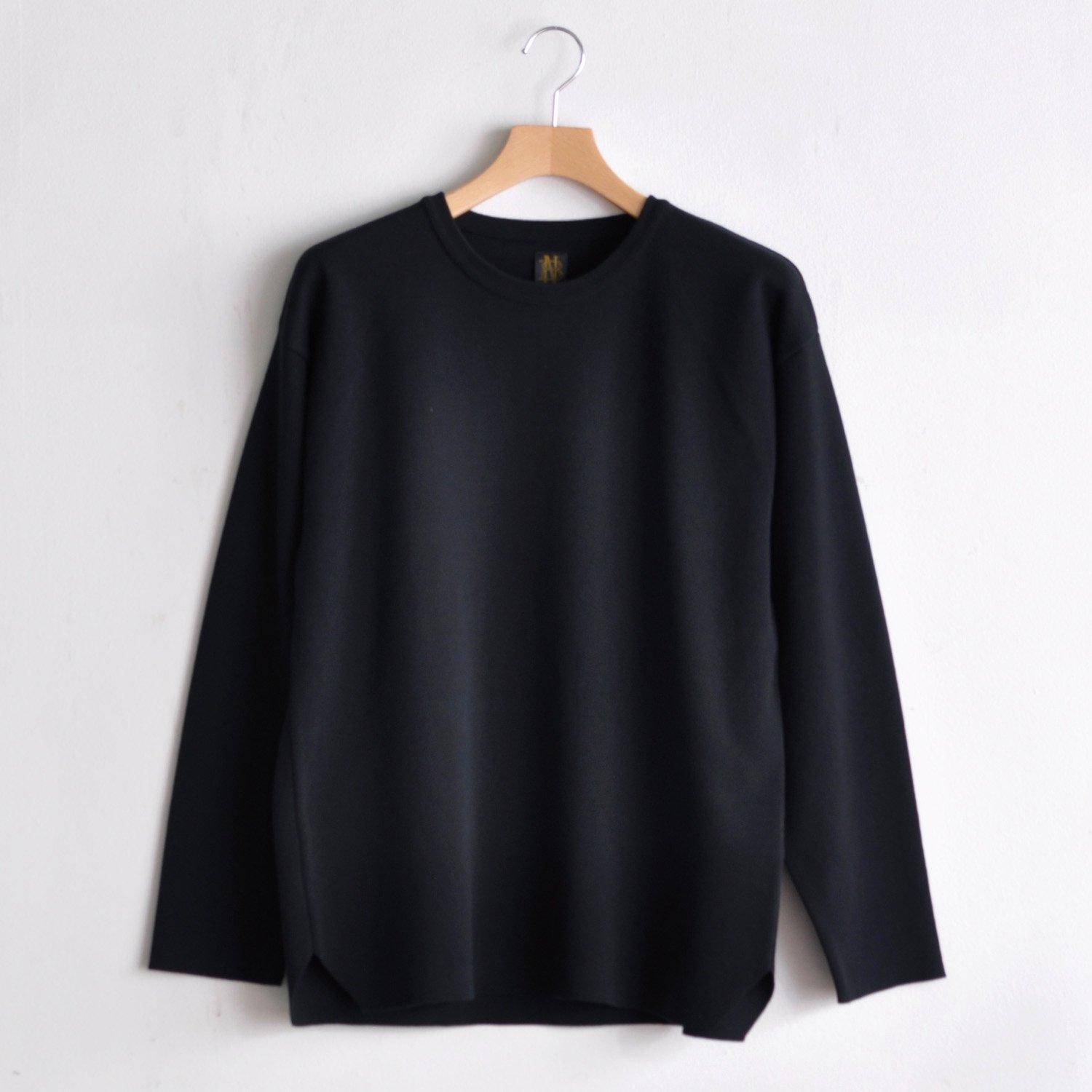 32G SMOOTH L/S TEE  [BLACK]
