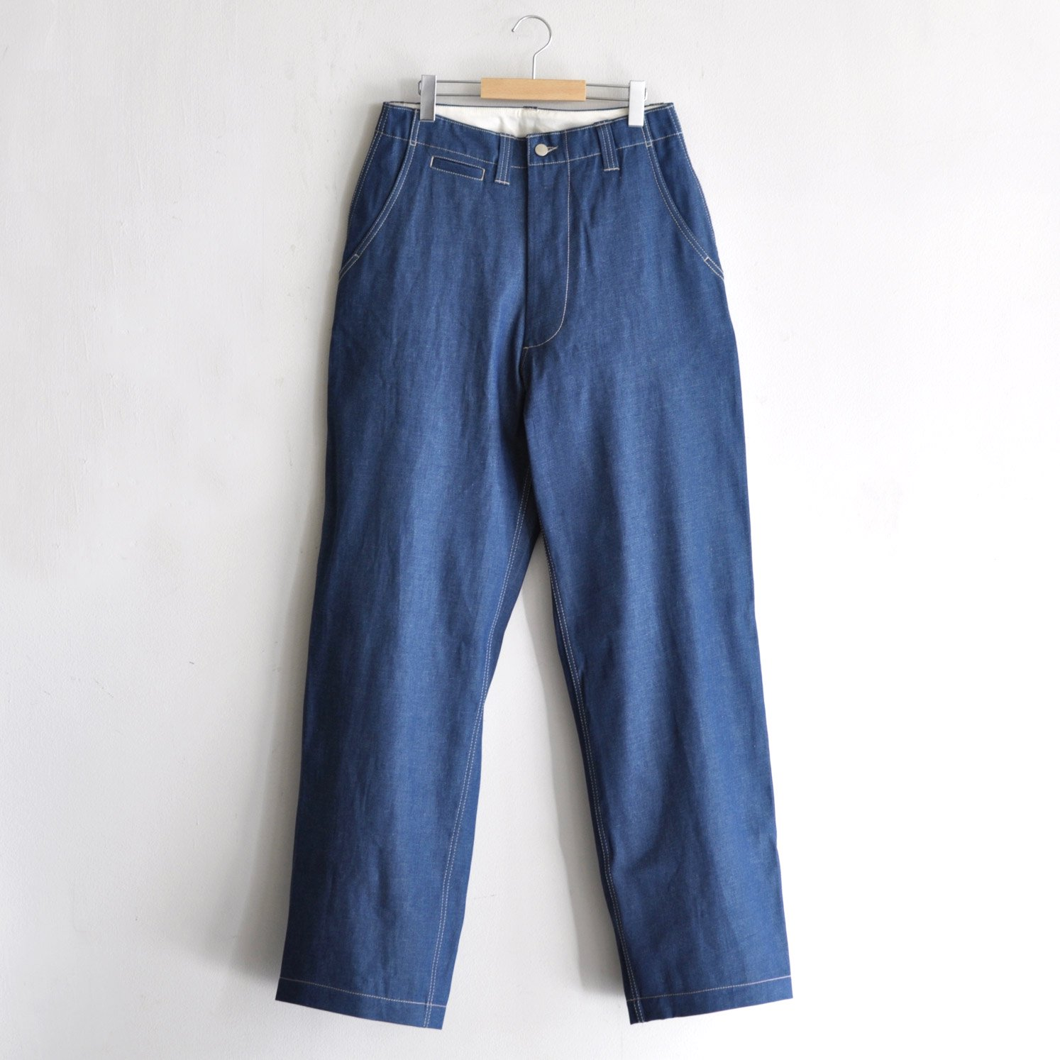 CORE FIELD TROUSERS  [INDIGO DENIM]