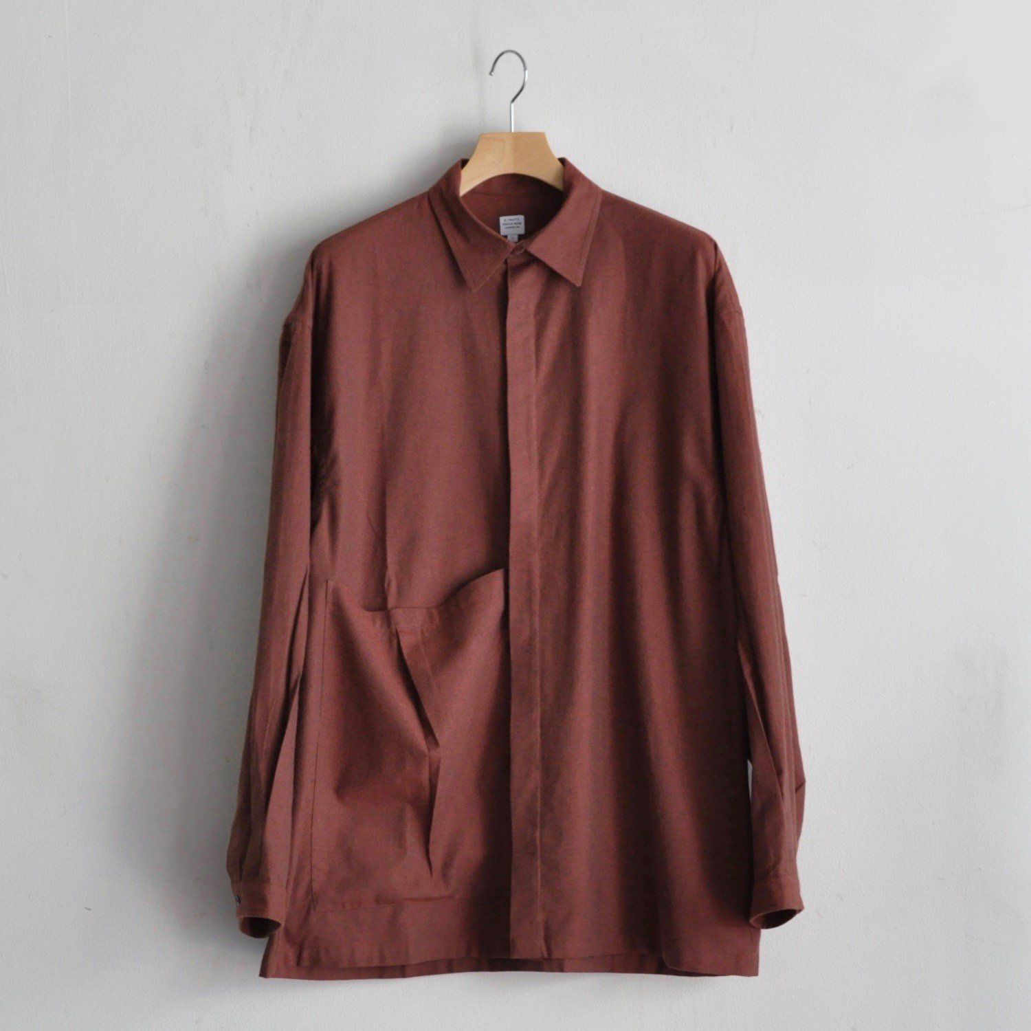 ESME SHIRT [BRICK RED]