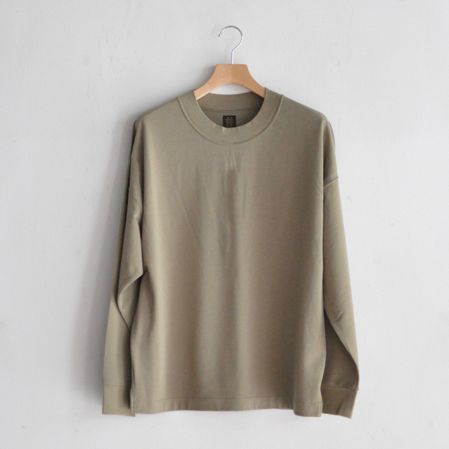 SUPER HIGH GUEGE SWEAT LONG SLEEVE [KHAKI BEIGE]