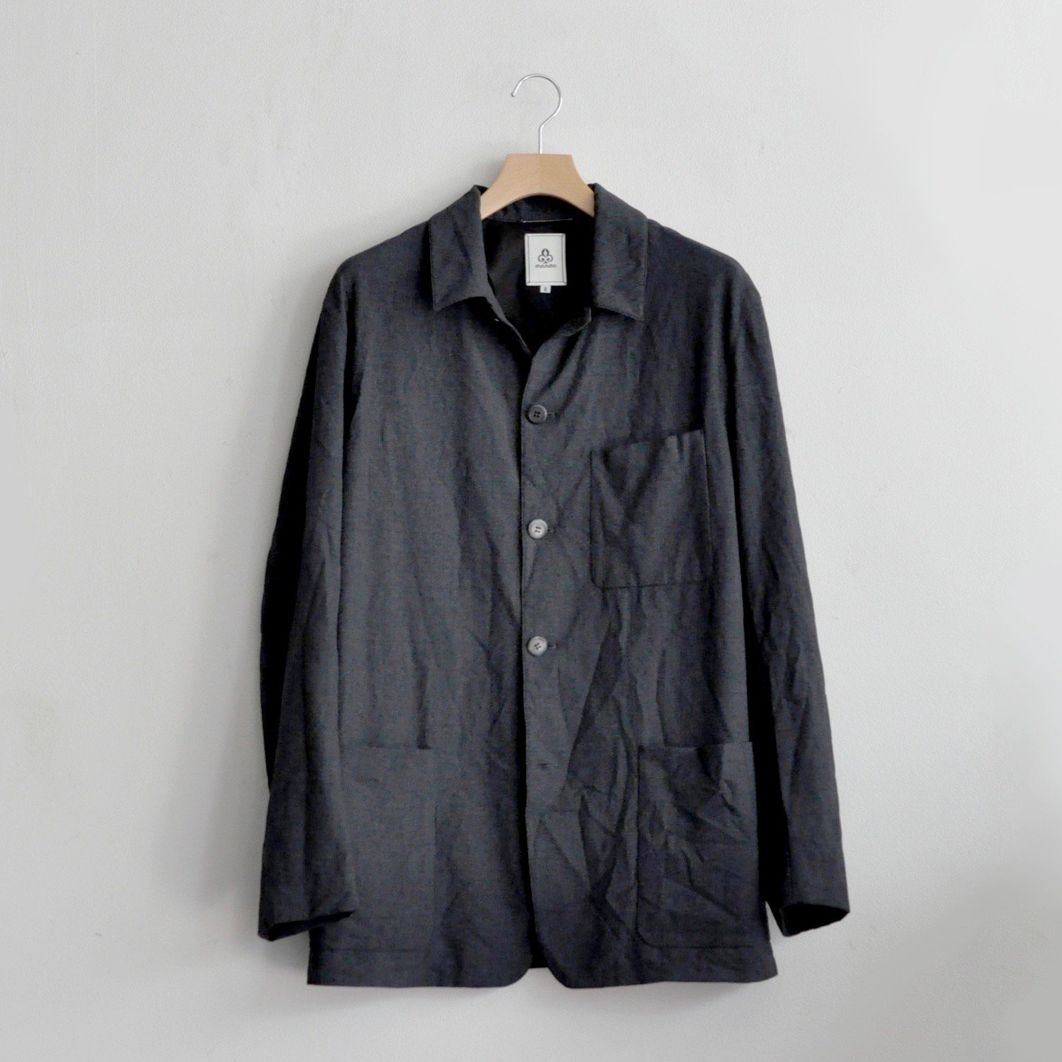 PE/RY CHECK COVERALL JACKET [NAVY CHECK]