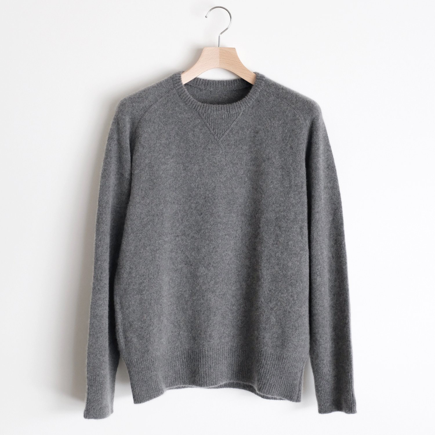 CASHMERE SABLE SWEAT [HEATHER]