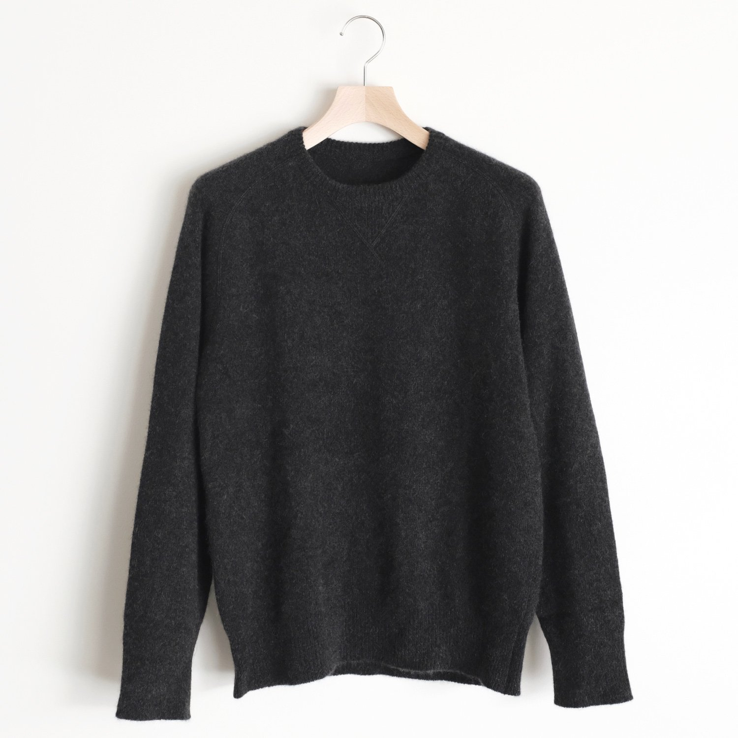 CASHMERE SABLE SWEAT [CHARCOAL]