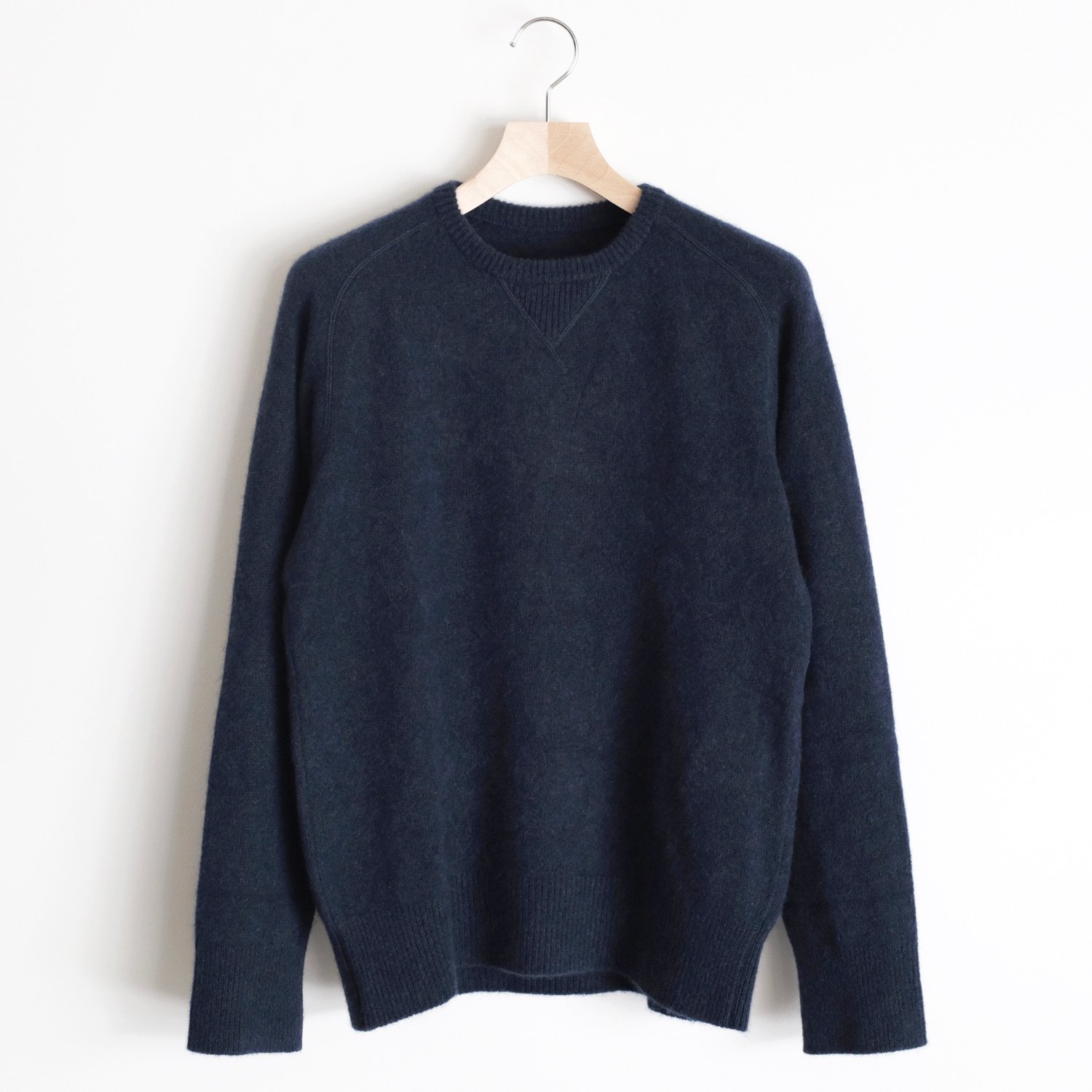 CASHMERE SABLE SWEAT [INDIGO]