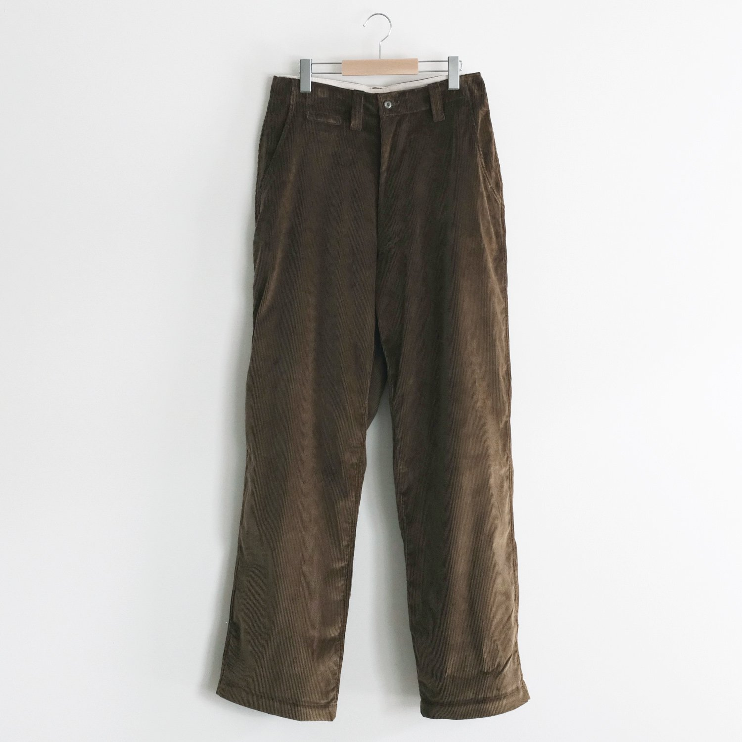 CORDUROY CORE FIELD TROUSERS  [ARMY CORDUROY]