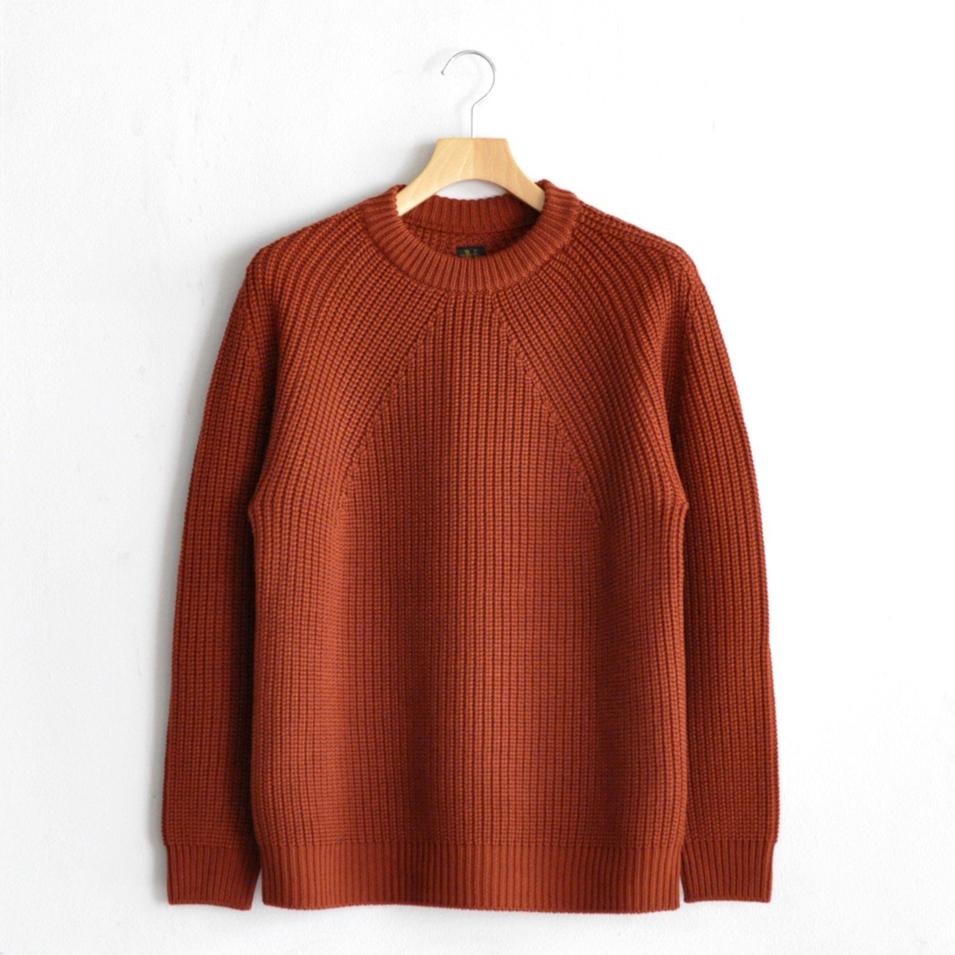 SIGNATURE CREW NECK [TERRACOTTA]