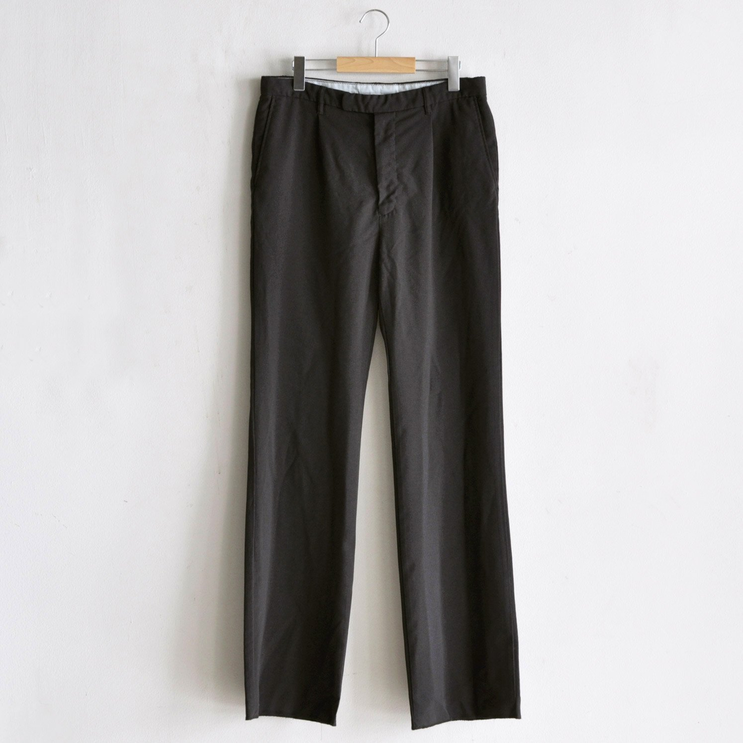 PE SEMI FLARE PANTS [CHARCOAL BROWN]